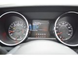 2015 Ford Mustang V6 Convertible Gauges