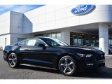 2015 Black Ford Mustang V6 Coupe #100381627