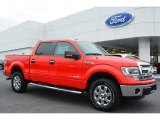 2014 Race Red Ford F150 XLT SuperCrew 4x4 #100381625