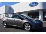 2014 Sterling Gray Ford Focus SE Sedan #100381622
