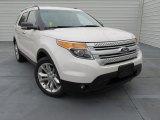 2015 Ford Explorer White Platinum