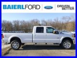 2015 Oxford White Ford F250 Super Duty Lariat Crew Cab 4x4 #100381287