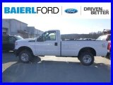 2015 Oxford White Ford F250 Super Duty XL Regular Cab 4x4 #100381285