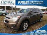 2010 Mocha Steel Metallic Chevrolet Equinox LS #100382155