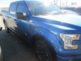 2015 Blue Flame Metallic Ford F150 XLT SuperCrew #100381363
