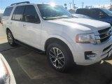 2015 White Platinum Metallic Tri-Coat Ford Expedition XLT #100381356