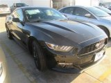 2015 Black Ford Mustang EcoBoost Coupe #100381351