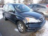 2010 Crystal Black Pearl Honda CR-V LX AWD #100382299