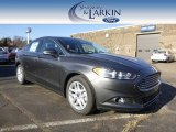 2015 Magnetic Metallic Ford Fusion SE #100381527