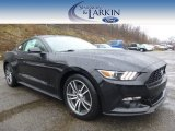 2015 Black Ford Mustang EcoBoost Premium Coupe #100381526