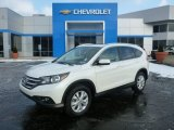2014 White Diamond Pearl Honda CR-V EX-L AWD #100381733