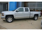 Silver Ice Metallic Chevrolet Silverado 1500 in 2015