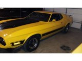 1973 Ford Mustang Medium Bright Yellow