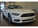 2015 50th Anniversary Wimbledon White Ford Mustang 50th Anniversary GT Coupe #100465775