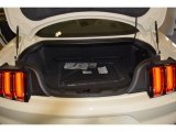 2015 Ford Mustang 50th Anniversary GT Coupe Trunk