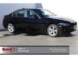 2015 Jet Black BMW 3 Series 320i Sedan #100465719