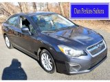 2012 Dark Gray Metallic Subaru Impreza 2.0i Premium 4 Door #100465504