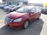 2014 Red Brick Nissan Sentra SV #100465645