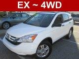 2010 Taffeta White Honda CR-V EX AWD #100465557