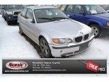 2004 Titanium Silver Metallic BMW 3 Series 330xi Sedan #100465535