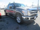 2015 Magnetic Ford F250 Super Duty Lariat Crew Cab 4x4 #100490585