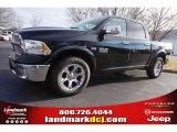 2015 Black Ram 1500 Laramie Crew Cab #100490702