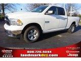 2015 Bright White Ram 1500 SLT Quad Cab #100490700