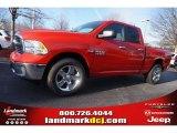 2015 Flame Red Ram 1500 Big Horn Quad Cab #100490699