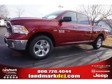 2015 Deep Cherry Red Crystal Pearl Ram 1500 Big Horn Crew Cab #100490698