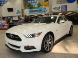 2015 50th Anniversary Wimbledon White Ford Mustang 50th Anniversary GT Coupe #100490628