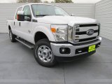 2015 Oxford White Ford F250 Super Duty XLT Crew Cab 4x4 #100490736
