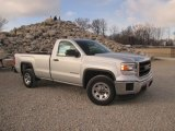 2014 Quicksilver Metallic GMC Sierra 1500 Regular Cab #100490905