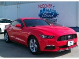 2015 Competition Orange Ford Mustang V6 Coupe #100490596