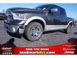 2015 Granite Crystal Metallic Ram 1500 Laramie Crew Cab 4x4 #100521518
