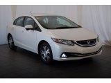 2015 Honda Civic White Orchid Pearl