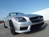 2015 Mercedes-Benz SLK Iridium Silver Metallic