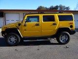 2005 Hummer H2 Yellow