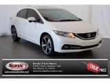 2015 Taffeta White Honda Civic Si Sedan #100521308