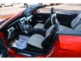 2015 Ford Mustang GT Premium Convertible Ceramic Interior