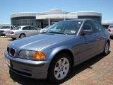 2001 Steel Blue Metallic BMW 3 Series 325i Sedan #10053784