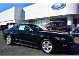 2015 Black Ford Mustang EcoBoost Coupe #100557458