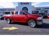 2014 Deep Cherry Red Crystal Pearl Ram 1500 Big Horn Quad Cab #100557520