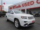 2014 Bright White Jeep Grand Cherokee Summit #100557444