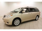 2012 Toyota Sienna XLE AWD Data, Info and Specs