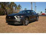 2015 Magnetic Metallic Ford Mustang EcoBoost Premium Coupe #100557685
