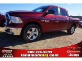 2015 Deep Cherry Red Crystal Pearl Ram 1500 Big Horn Crew Cab #100593053