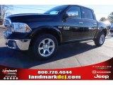 2015 Black Ram 1500 Laramie Crew Cab 4x4 #100593069