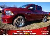 2015 Deep Cherry Red Crystal Pearl Ram 1500 Express Crew Cab #100593047