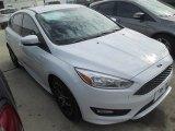 2015 Oxford White Ford Focus SE Hatchback #100593002