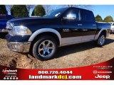 2015 Black Ram 1500 Laramie Crew Cab #100593055